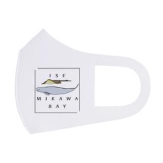 伊勢・三河湾グッズ(カラー) Full Graphic Mask