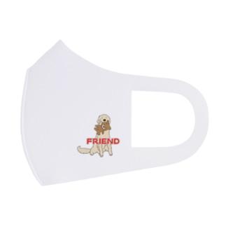 うちの子1番☆friend&Sorry Full Graphic Mask