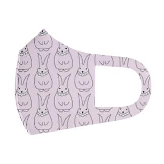 うさぎ Full Graphic Mask