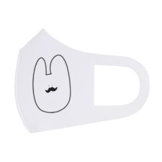 ダンディなうさぎさん Full Graphic Mask