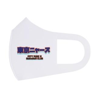 くまきちゲームCHオンラインSHOPの東京ニャースマスク 原案Ver Full Graphic Mask