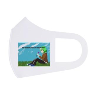 パールコレクション Full Graphic Mask