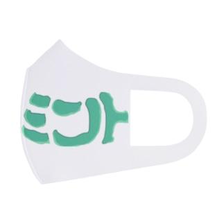 ミント大陸 Full Graphic Mask