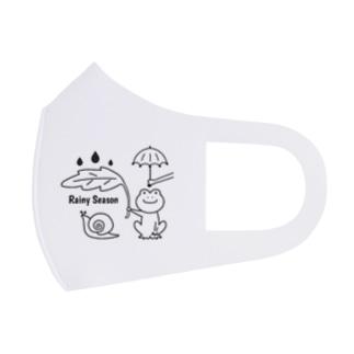 Rainy Season Full Graphic Mask