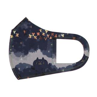 キャットフードの星空 Full Graphic Mask