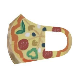 ピザ Full Graphic Mask