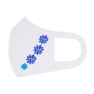 青と青 Full Graphic Mask