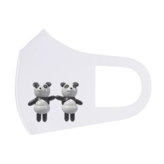 パンダツインズ(ズンズンとブンブン) Full Graphic Mask