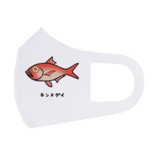 キンメダイ♪2106 Full Graphic Mask