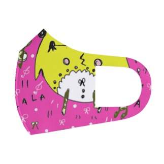 sing with me piyo chan Full Graphic Mask