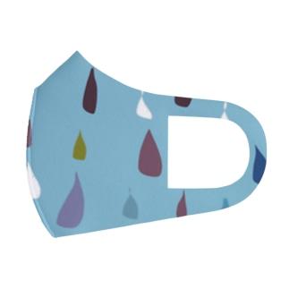 Rain Full Graphic Mask