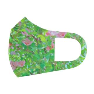 ムクゲの花 Full Graphic Mask