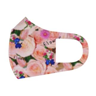 flowerビーム Full Graphic Mask
