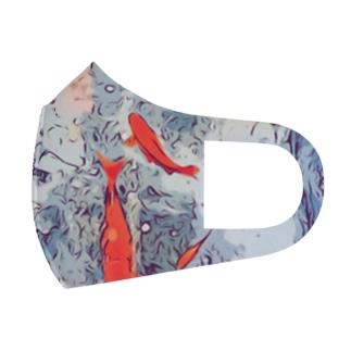 金魚 Full Graphic Mask