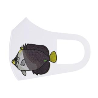 snaggedgorillaのチリメンヤッコ Full Graphic Mask