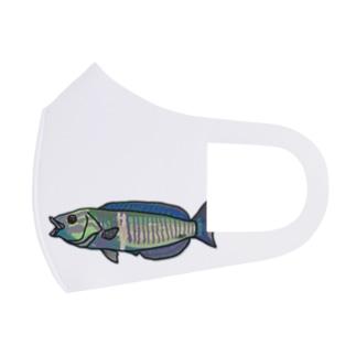 シロタスキベラ Full Graphic Mask