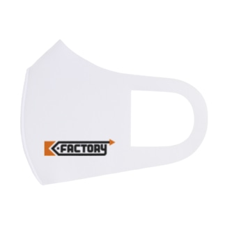 kimchinのK-FACTORY ロゴ Full Graphic Mask