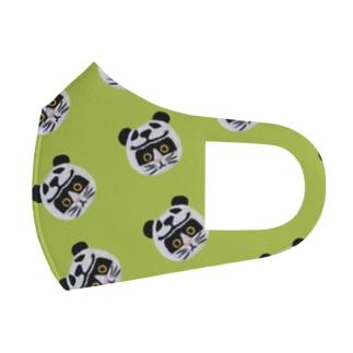 かぶる猫[パンダver.](バットニャン) Full Graphic Mask