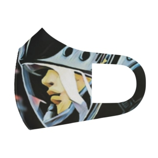 SPACE Full Graphic Mask