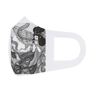 羽衣天女 Full Graphic Mask