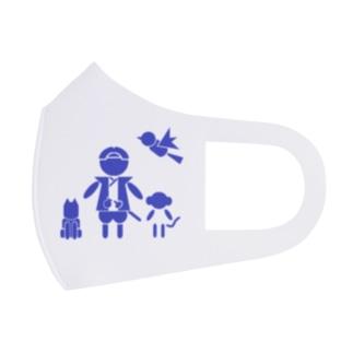 MOMOTARO Full Graphic Mask