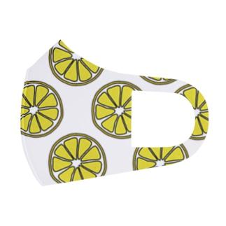 レモン Full Graphic Mask