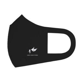 マスク GREEN DESIGN WORKS Full Graphic Mask