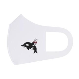 海の仲間シリーズ!USAシャチ☆ Full Graphic Mask