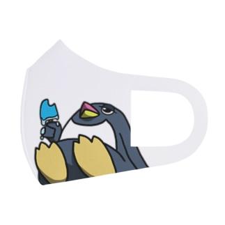 あぢぃ… Full Graphic Mask