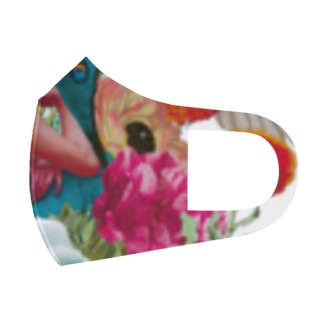 コラージュマスク Full Graphic Mask