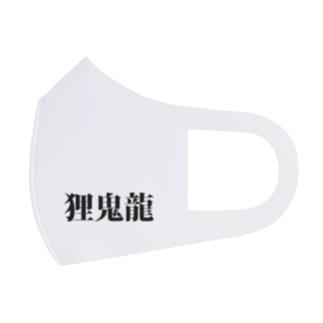 狸鬼龍Aタイプ Full Graphic Mask