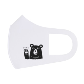 クマさん、爪を立てて戦闘モード。 Full Graphic Mask