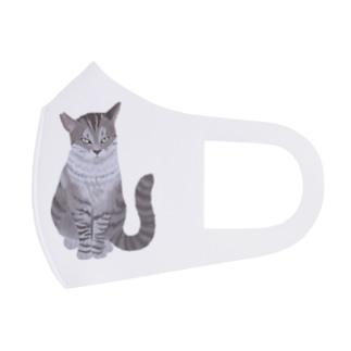 ギザ耳CAT Full Graphic Mask