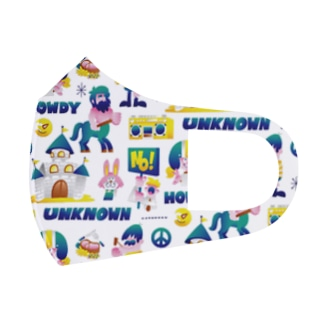 UNKNOWN WORLD Full Graphic Mask