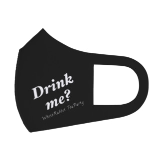 Drink me? Full Graphic Mask