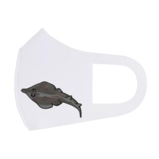 snaggedgorillaのサカタザメ Full Graphic Mask