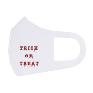 Bloody Trick or Treat Full Graphic Mask