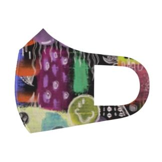 にこちゃん🌈 Full Graphic Mask