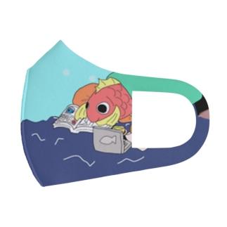 ごろごろし鯛(たい)01(完全版)-ごろ鯛(たい) Full Graphic Mask