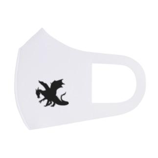 ブラックドラゴン Face Mask