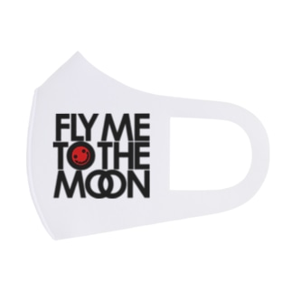 FLY ME TO THE MOON Full Graphic Mask