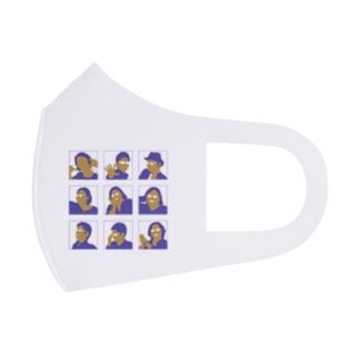 まり探 Full Graphic Mask