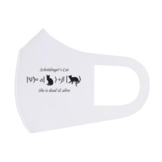 シュレーディンガーの猫 Full Graphic Mask