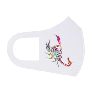 ESCHATOLOGYの蠍・SAI/ビビッドA Full Graphic Mask
