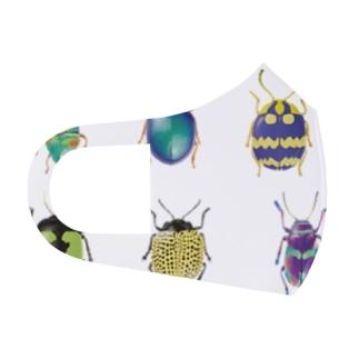 昆虫シリーズ Full Graphic Mask