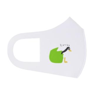 シロハラクイナ Full Graphic Mask