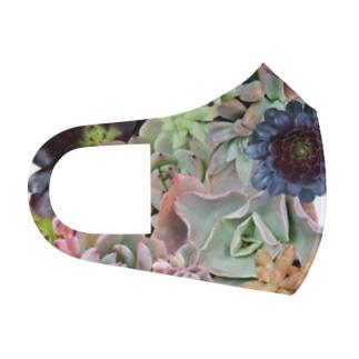多肉植物 Full Graphic Mask