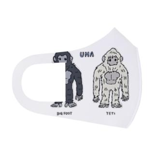 UMA ビッグフット&イエティ Full Graphic Mask
