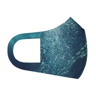 bubble Full Graphic Mask