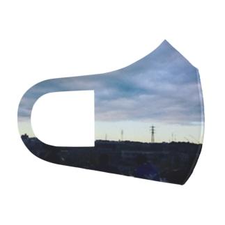 city Full Graphic Mask